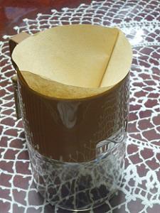 コーヒーフィルターをドリッパーにセット